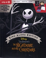The Nightmare Before Christmas: Sing-Along Edition DigiPack (BD + Digital Copy)(Exclusive)