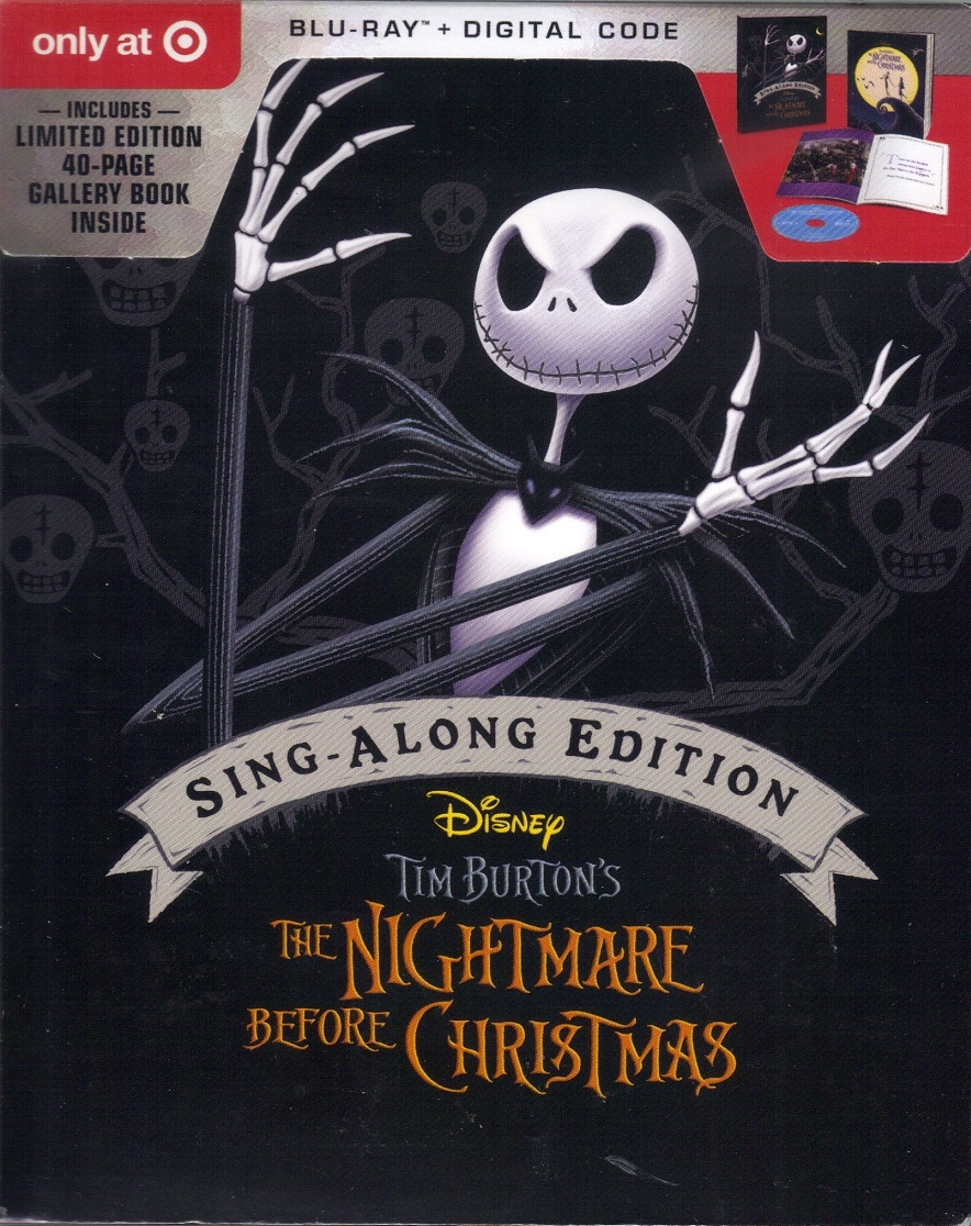 The Nightmare Before Christmas: Sing-Along Edition DigiPack (BD + ...