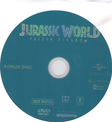 Jurassic World: Fallen Kingdom Bonus Disc (Exclusive)