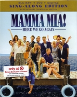 Mamma Mia! Here We Go Again: Sing-Along Edition w/ Bonus Disc (BD/DVD + Digital Copy)(Exclusive)