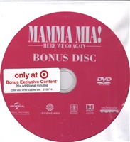 Mamma Mia! Here We Go Again Bonus Disc (Exclusive)