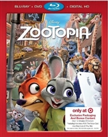 Zootopia w/ Bonus Content & Exclusive Slip (BD/DVD + Digital Copy)(Exclusive)