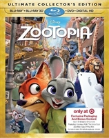 Zootopia 3D w/ Exclusive Content & Slip (BD/DVD + Digital Copy)(Exclusive)