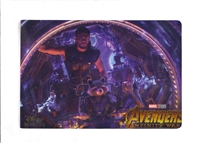 Avengers: Infinity War Disney Movie Club Lithograph