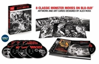 Universal Classic Monsters: The Essential Collection - Alex Ross Art DigiBook (Exclusive)