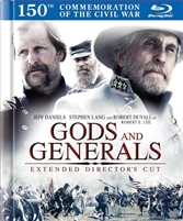 Gods and Generals DigiBook (BD/DVD)