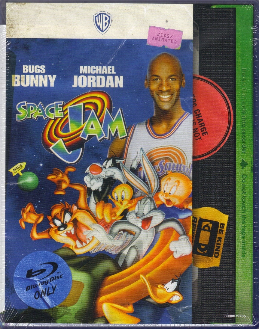 8be6d4b2aa1fa5 Space Jam  VHS Cover Card (Exclusive)