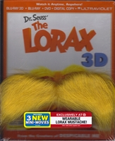 Dr. Seuss' The Lorax 3D w/ Mustache (BD/DVD + Digital Copy)(Exclusive)
