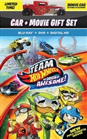 Team Hot Wheels: The Origin of Awesome + Toy Car (BD/DVD + Digital Copy)(Exclusive)
