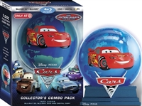 Cars 2 3D w/ Globe Set (BD/DVD + Digital Copy)(Exclusive)