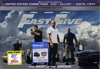 Fast Five: Extended Limited Edition (BD/DVD + Digital Copy)(Exclusive)