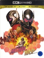 Ant-Man and the Wasp 3D & 4K Full Slip SteelBook (Korea)