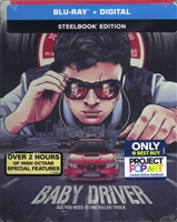 Baby Driver POP Art SteelBook (BD + Digital Copy)(Exclusive)