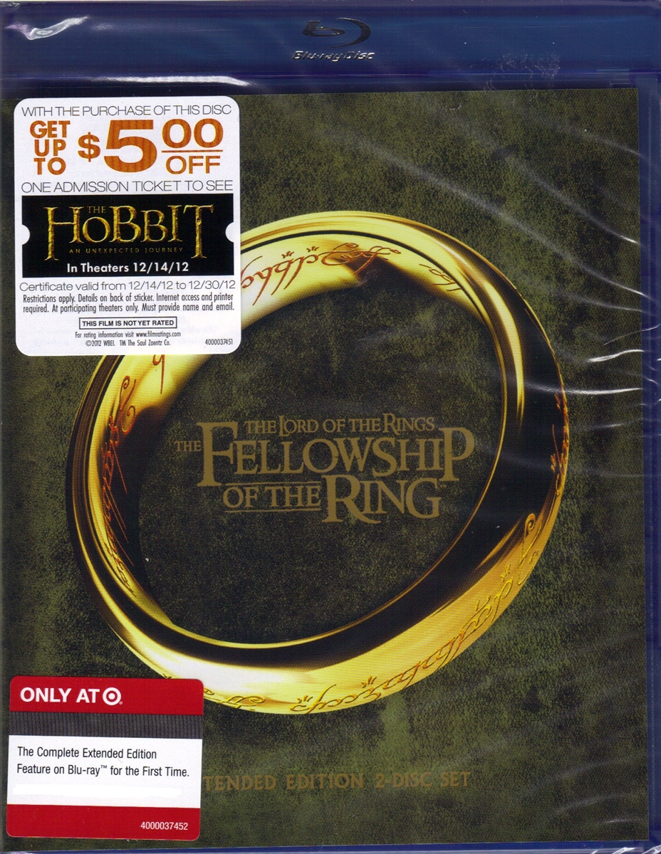 The Lord of the Rings: The Fellowship of the Ring - Extended Edition  (Exclusive)