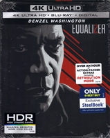 The Equalizer 2 4K SteelBook (BD + Digital Copy)(Exclusive)