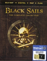 Black Sails: The Complete Series DigiPack (BD + Digital Copy)(Exclusive)