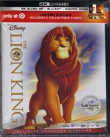 The Lion King 4K: Signature Collection w/ Art Cards (BD + Digital Copy)(Exclusive)