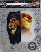The Lion King 4K: Signature Collection SteelBook (BD + Digital Copy)(Exclusive)
