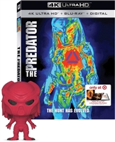 The Predator 4K w/ Booklet & Funko POP! (BD + Digital Copy)(Exclusive)