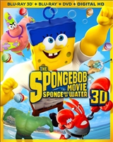 The SpongeBob Movie: Sponge Out of Water 3D (BD/DVD + Digital Copy)