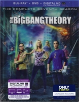 The Big Bang Theory: Season 7 w/ Lenticular Packaging (BD/DVD + Digital Copy)(Exclusive)