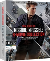 Mission: Impossible - 6 Movie 4K Collection - I / II / III / Ghost Protocol / Rogue Nation / Fallout