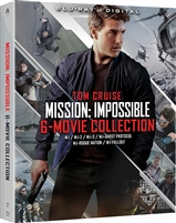 Mission: Impossible - 6 Movie Collection - I / II / III / Ghost Protocol / Rogue Nation / Fallout