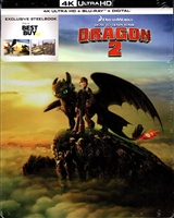 How to Train Your Dragon 2 4K SteelBook (BD + Digital Copy)(Exclusive)