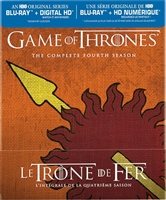 Game of Thrones: Season 4 (Martell Cover)(DigiPack)(BD + Digital Copy)(Canada)