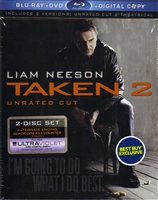 Taken 2: Unrated w/ T-Shirt (BD/DVD + Digital Copy)(Exclusive)