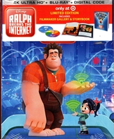 Ralph Breaks the Internet 4K DigiPack (BD + Digital Copy)(Exclusive)