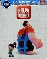 Ralph Breaks the Internet 4K SteelBook (BD + Digital Copy)(Exclusive)