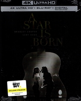 A Star is Born 4K SteelBook (2018)(BD + Digital Copy)(Exclusive)