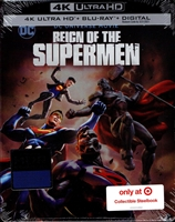 Reign of the Superman 4K SteelBook (BD + Digital Copy)(Exclusive)