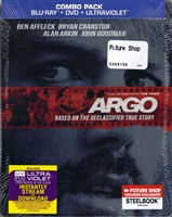 Argo SteelBook (BD/DVD + Digital Copy)(Canada)