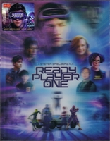 Ready Player One 3D Double Lenticular HDZeta SteelBook (China)