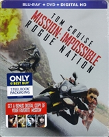 Mission: Impossible - Rogue Nation SteelBook (BD/DVD + Digital Copy)(Exclusive)