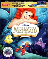 The Little Mermaid 4K: Signature Edition DigiPack (BD + Digital Copy)(Exclusive)