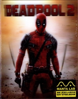Deadpool 2: Unrated Double Lenticular SteelBook (Hong Kong)