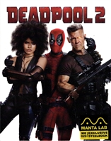 Deadpool 2: Unrated 4K Full Slip SteelBook (Hong Kong)