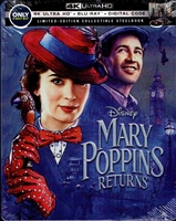 Mary Poppins Returns 4K SteelBook (BD + Digital Copy)(Exclusive)