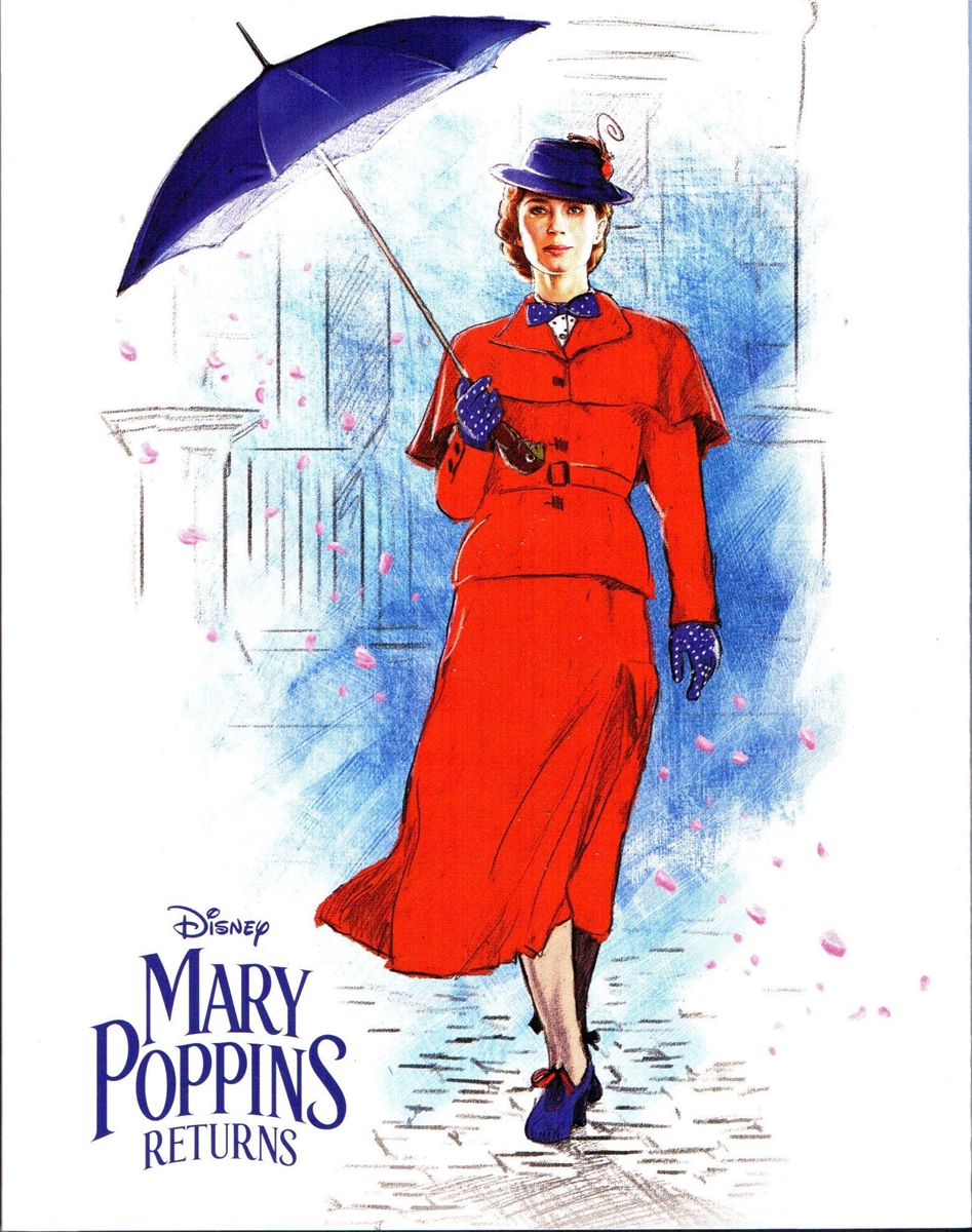 Mary Poppins Returns 4K DigiPack (BD + Digital Copy)(Exclusive)