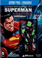 Superman: Unbound w/ Figurine (BD/DVD + Digital Copy)(Exclusive)