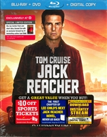 Jack Reacher w/ Second Son Book (DigiPack)(BD/DVD + Digital Copy)(Exclusive)