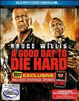 A Good Day to Die Hard: Extended w/ Bottle Opener (BD/DVD + Digital Copy)(Exclusive)