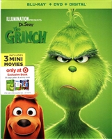 Dr. Seuss' The Grinch w/ Book (BD/DVD + Digital Copy)(Exclusive)