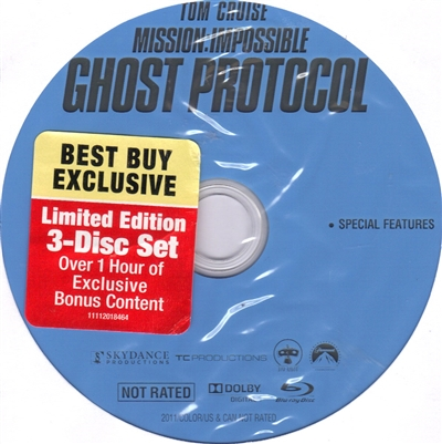 Mission: Impossible - Ghost Protocol Bonus Disc (Exclusive)