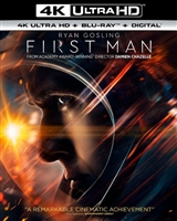 First Man 4K (BD + Digital Copy)