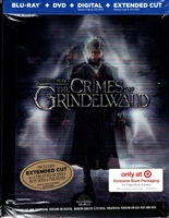 Fantastic Beasts: The Crimes of Grindelwald DigiBook (BD/DVD + Digital Copy)(Exclusive)