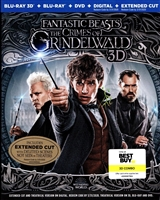 Fantastic Beasts: The Crimes of Grindelwald 3D (BD/DVD + Digital Copy)(Exclusive)
